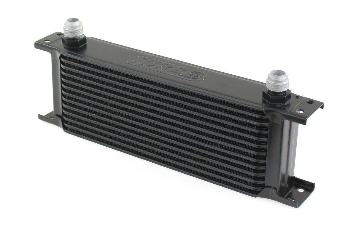 Chłodnica Oleju TurboWorks 13-rzędowa 260x100x50 AN8 black - GRUBYGARAGE - Sklep Tuningowy